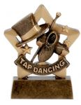 Tap Dancing Mini Star Trophy